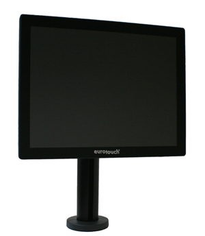 "EUROTOUCH EA-1515-Stand Capacitive Touch 15"" monitor, VGA, variabilní stojan"